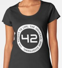 42 - The Ultimate Answer Women's Premium T-Shirt