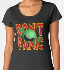 DON'T PANIC Women's Premium T-Shirt