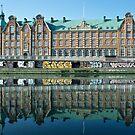 Graffiti and Reflection by Kasia Nowak