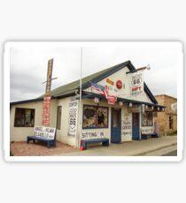 Route 66 - Angel's Barber Shop Sticker