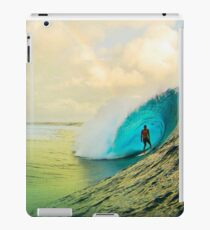 Dude Surfing on the Wave is Cool iPad Case/Skin