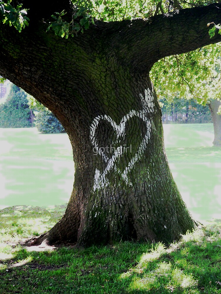 Tree Heart by gothgirl