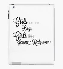 Jemma Redgrave  iPad Case/Skin