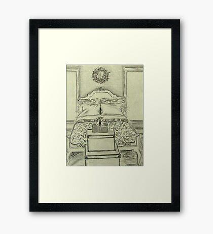 Invitation to Rest Framed Print