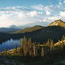 Panorama of Mt. Shasta from Heart Lake by Hotaik  Sung