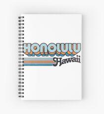 Honolulu, Hawaii   Stadt Streifen Spiralblock