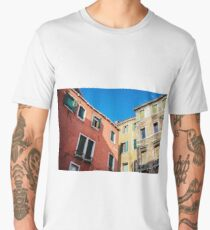 Houses in Venice, Detail Men's Premium T-Shirt