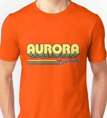 Aurora, CO   City Stripes T-Shirt