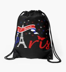 Paris Je T'Aime Drawstring Bag