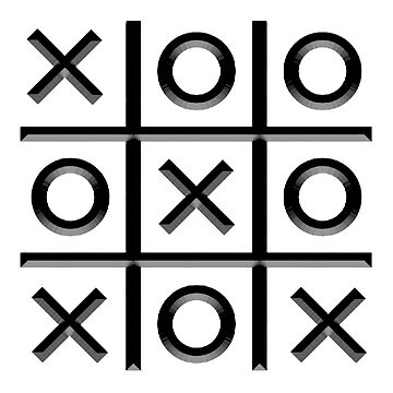 TIC TACK TOE, Noughts and crosses, Xs and Os, Game by TOMSREDBUBBLE