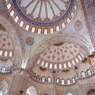 Interior View of the Blue Mosque (Sultan Ahmed Mosque), Istanbul by Hotaik  Sung