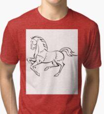 Iron Horse Tri-blend T-Shirt