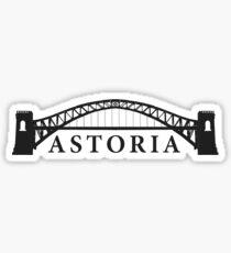 Astoria Sticker