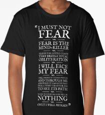 Litany Against Fear Long T-Shirt