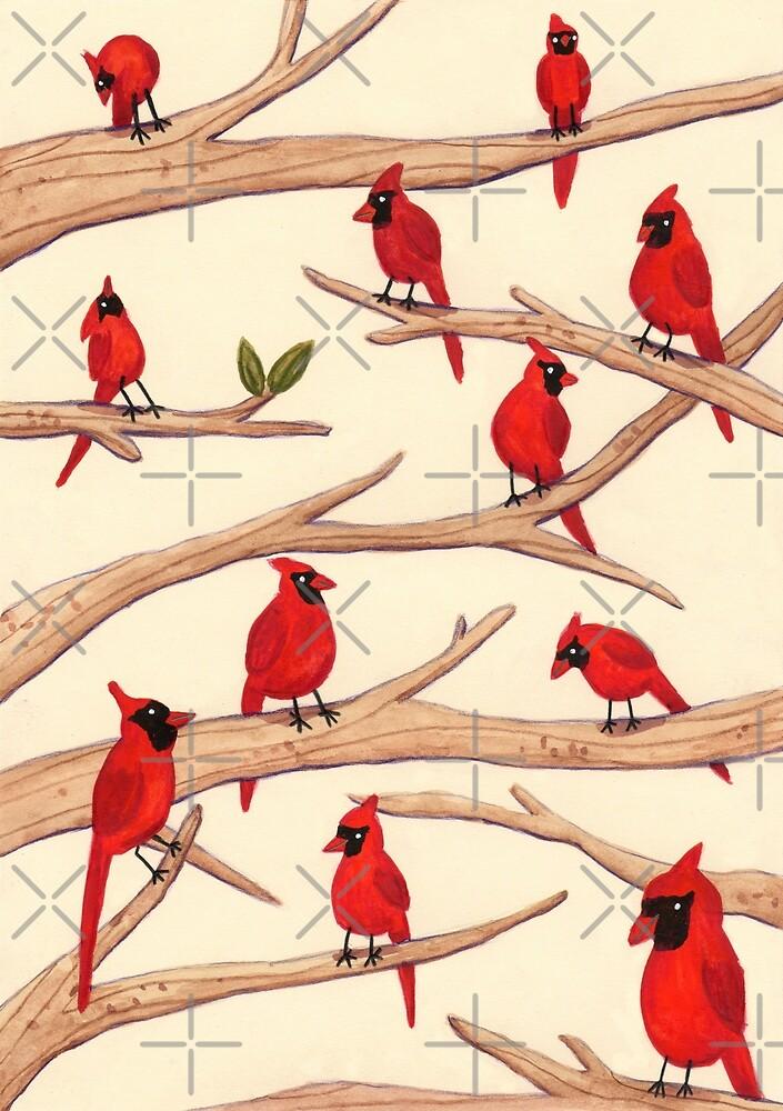 Cardinals by Sophie Corrigan