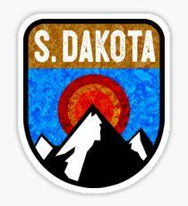SOUTH DAKOTA MOUNTAINS SUN BADLANDS WIND CAVE NATIONAL PARK RUSHMORE BLACK HILLS CUSTER Sticker