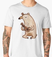Ukulele Bear Men's Premium T-Shirt