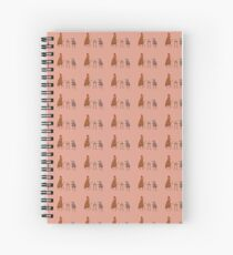 Tea Party Spiral Notebook