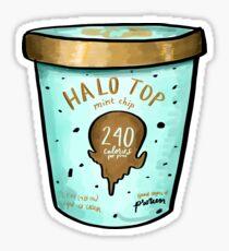Halo Top Ice Cream Sticker