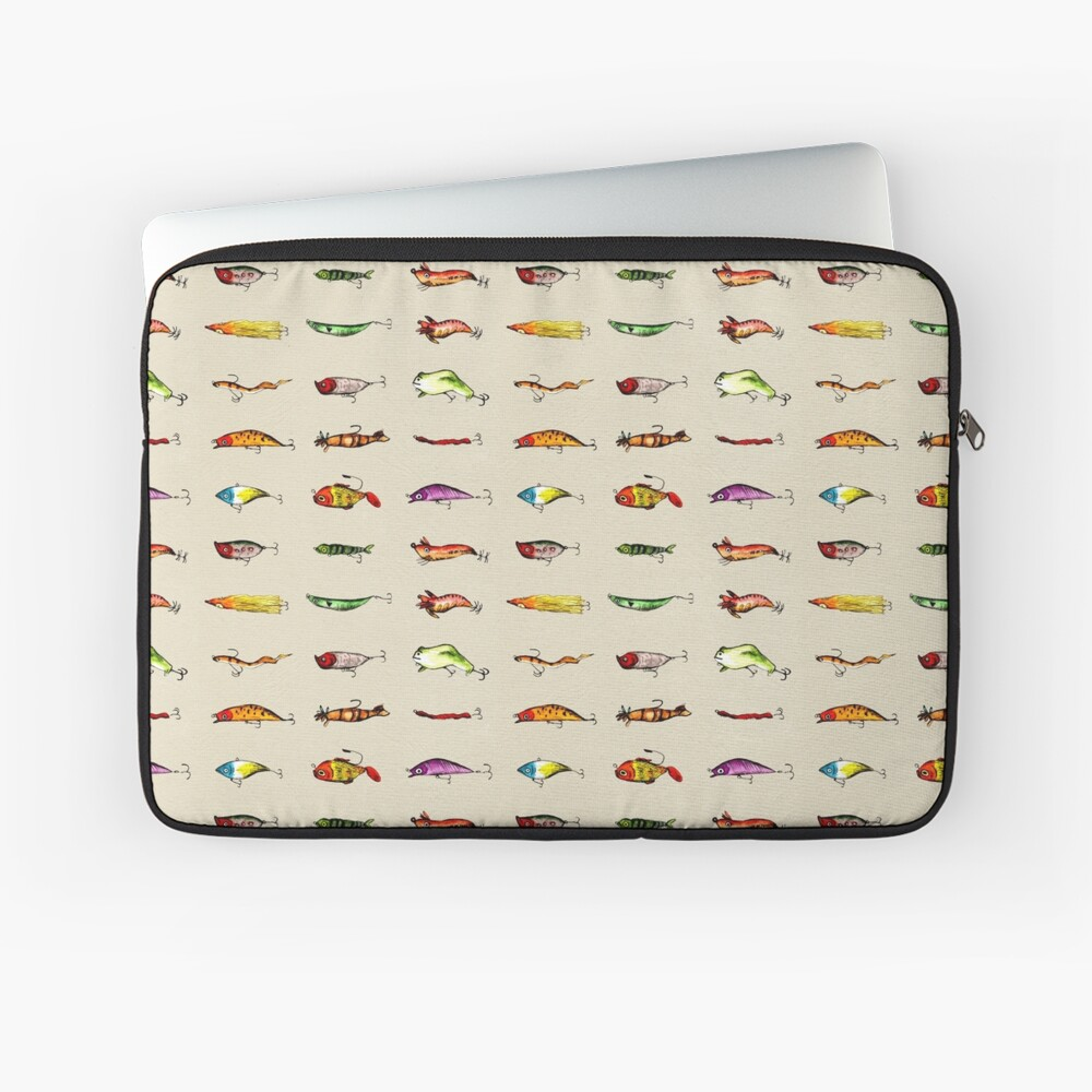 Lures Laptop Sleeve