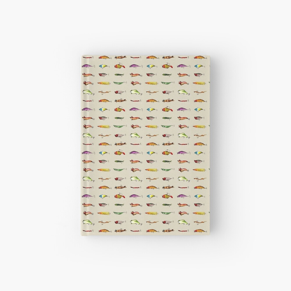 Lures Hardcover Journal