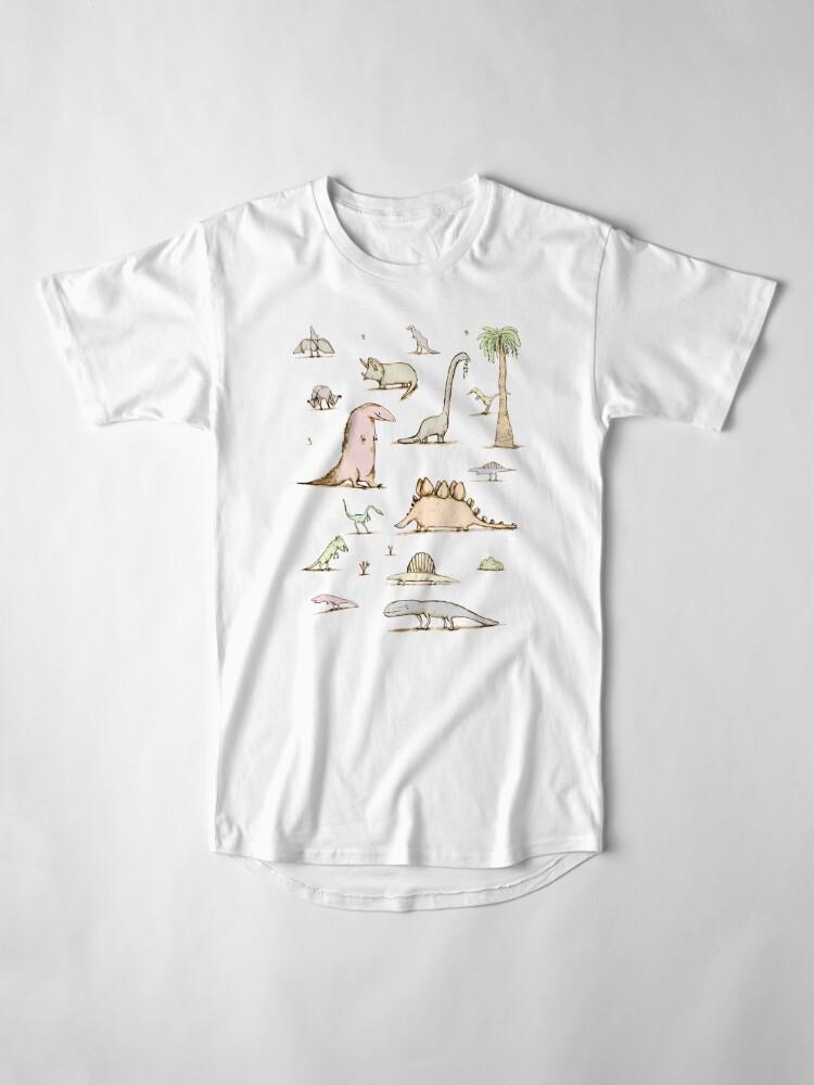 Alternate view of Dinosaurs Long T-Shirt