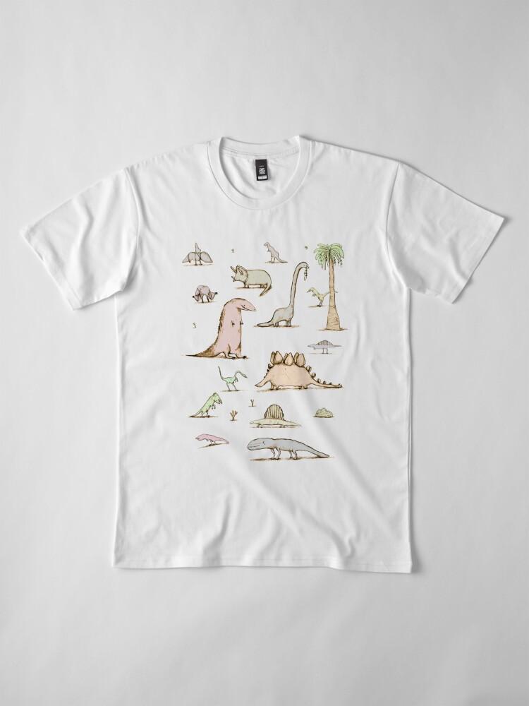 Alternate view of Dinosaurs Premium T-Shirt