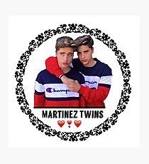 Martinez Twins  Photographic Print