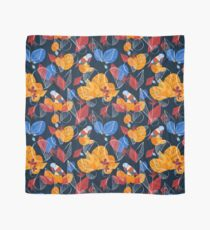 Birds And Leaves Scarf