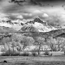 The Queen of the San Juans in Monochrome by Eric Glaser