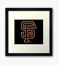 SAN FRANCISCO GIANTS Framed Print