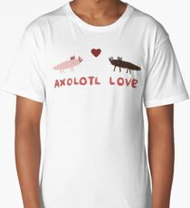 Axolotl Love Long T-Shirt