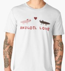 Axolotl Love Men's Premium T-Shirt
