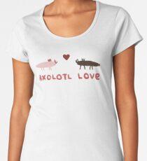 Axolotl Love Women's Premium T-Shirt