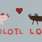 Axolotl Love by Sophie Corrigan