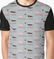 Axolotl Love Graphic T-Shirt