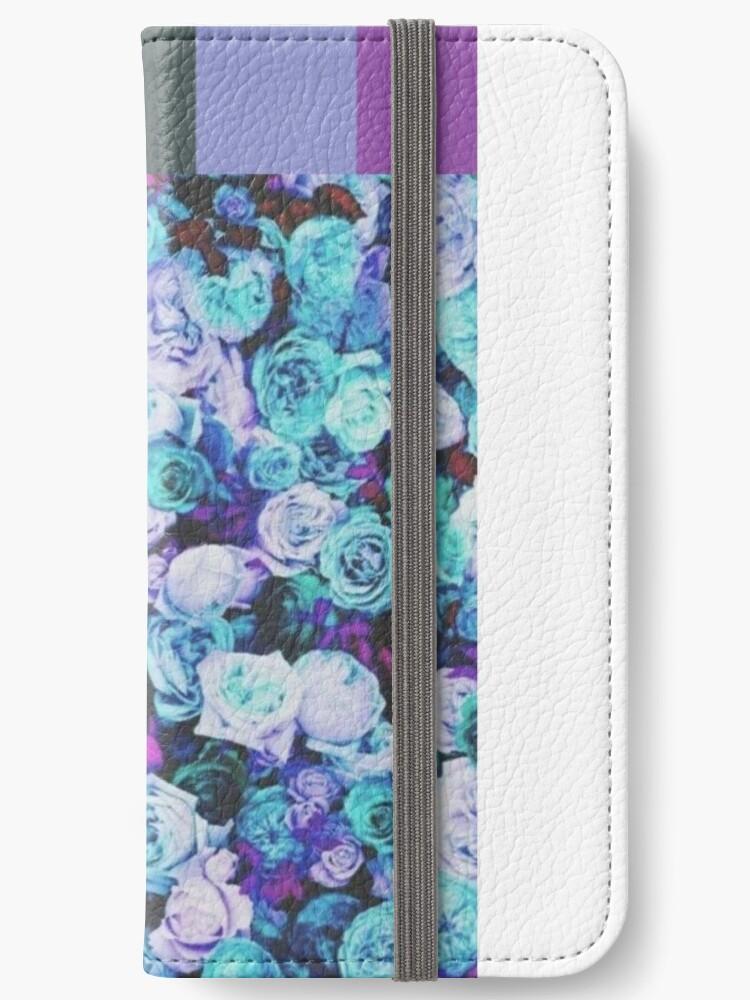 7b99adc1ff7 Fundas tarjetero para iPhone «Paleta de colores estéticos» de Misty ...