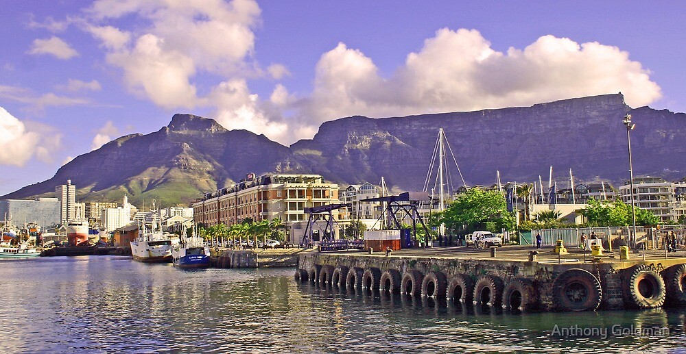 Cape Town waterfront! by Anthony Goldman