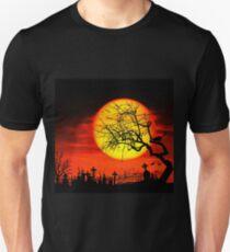 Halloween landscape Unisex T-Shirt