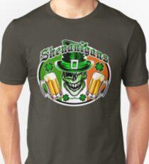 Irish Leprechaun Skull 2: Shenanigans T-Shirt