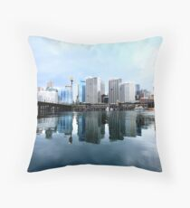 Sydney scape Throw Pillow