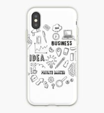 PRIVATE BANKER iPhone Case