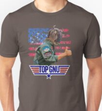 Top Gun - Top Gnu! T-Shirt