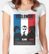 Kieslowski - Three Colours Trilogy Women's Fitted Scoop T-Shirt
