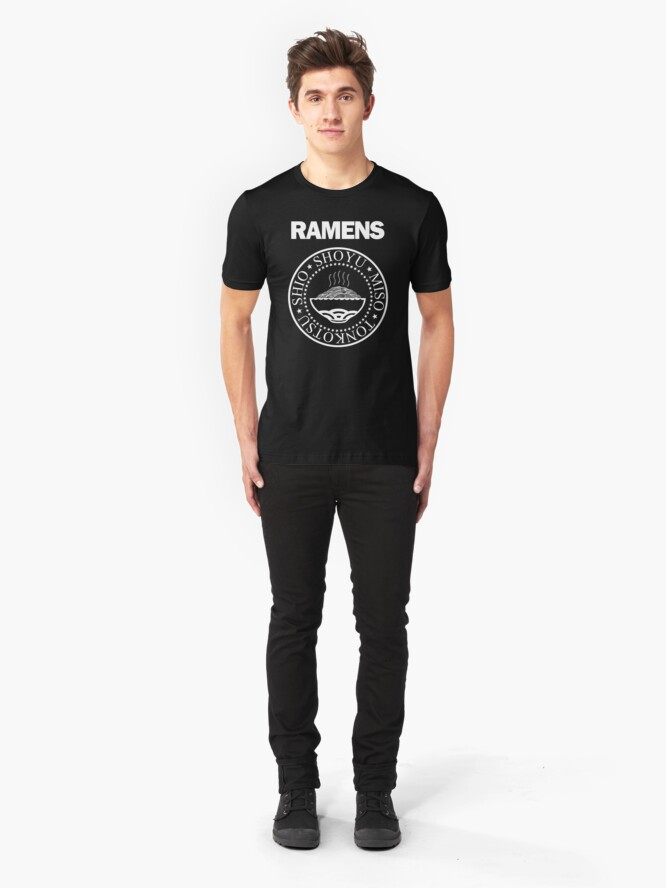 Alternate view of The Ramens Slim Fit T-Shirt