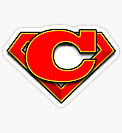 C Power Symbol Sticker