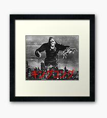 King Kong キングコング Framed Print