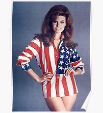 Raquel Welch America Poster