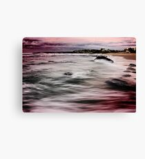 Bar Beach NSW Canvas Print