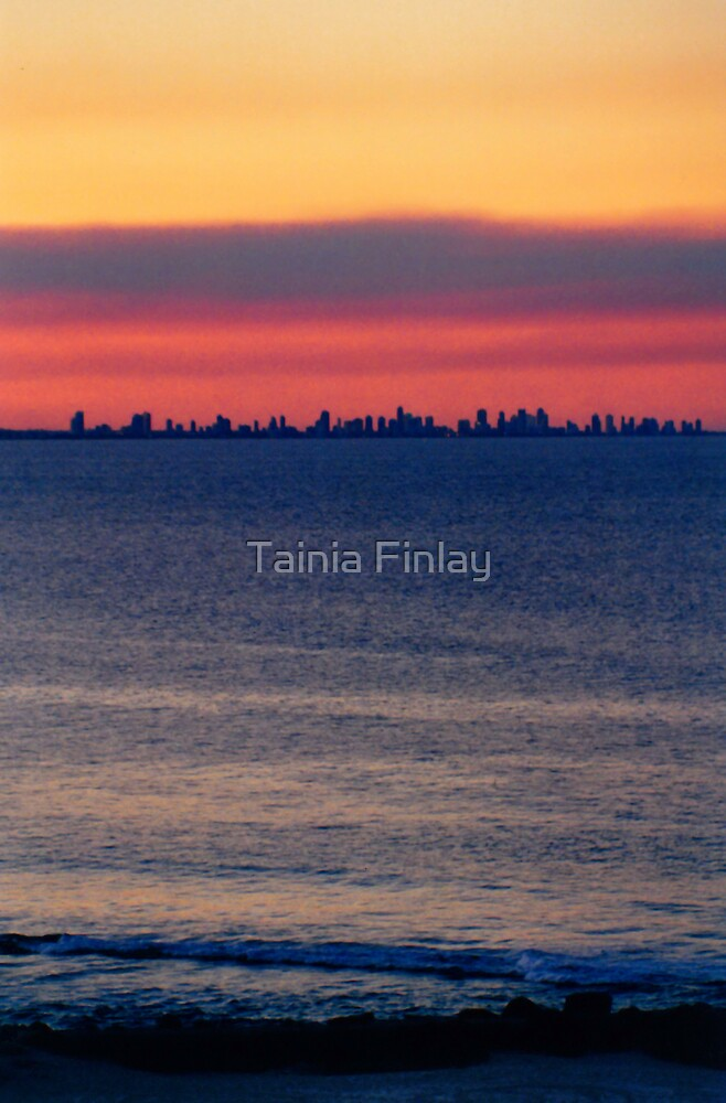 Surfers Skyline by Tainia Finlay